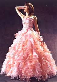 pink going out dresses