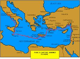 apostle paul journey