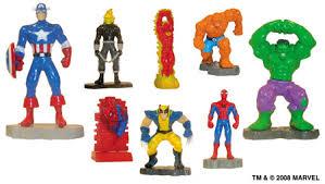marvel heroes figurines