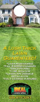 lawn care door hanger