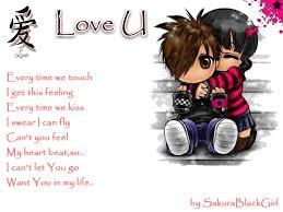 love emo cartoons