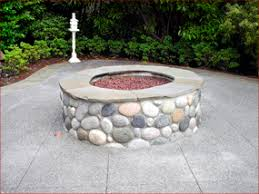 concrete fire rings