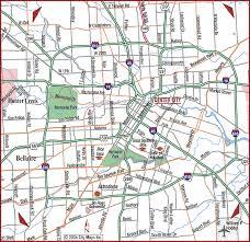 houston road map