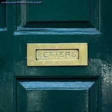 mail slots door