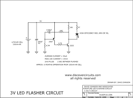 flashing led circuit