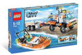 lego city coast guard truck