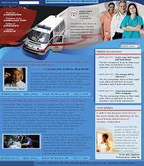 hospital web templates