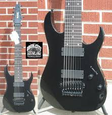 8 string electric guitars
