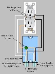 electrical receptacle wiring