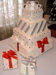 christmas wedding cake toppers
