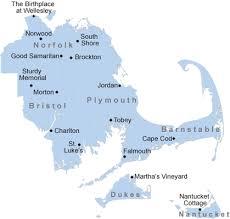 map of southeastern ma