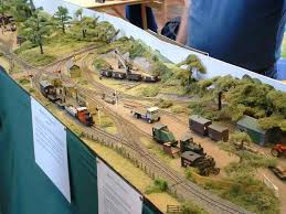 model railway scenery