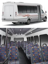 luxury charter bus