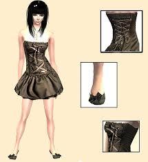 emo formal dresses