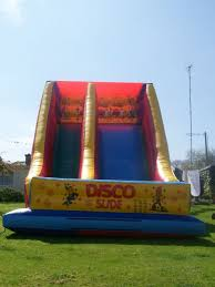 bouncy castles slides