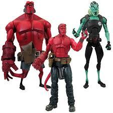 hellboy figurines
