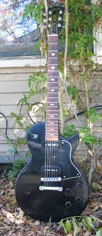gibson les paul special black