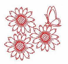 redwork embroidery design