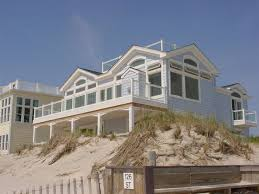 ocean front beach house