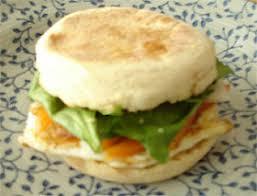 english muffin breakfast