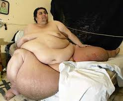 the fattest man in the world