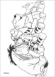 coloring pages of winnie the pooh and friends