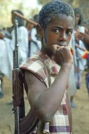 child soldier images