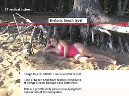 lake sebago beach