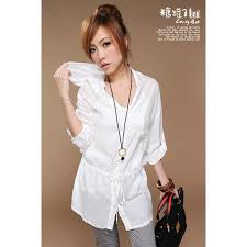 long sleeve white blouses