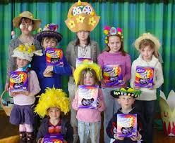 kids easter bonnet
