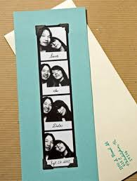 photo booth save the date cards