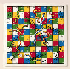 snake and ladders game