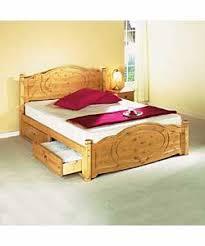 pine kingsize bed