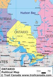 map of ontario and quebec
