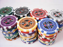 all in poker chip