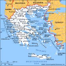 greece travel maps