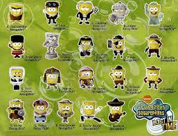 burger king spongebob toys