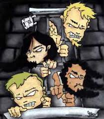 metallica cartoon