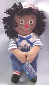black raggedy ann dolls
