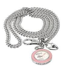 juicy couture peace necklace