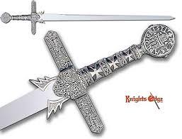 knights templar swords