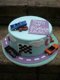 car cakes for boys