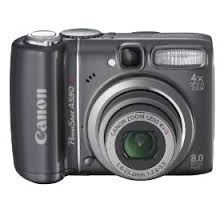 canon powershot 8mp digital camera