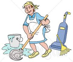 broom and mop