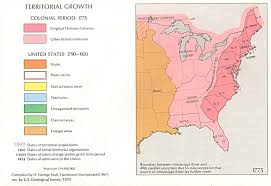 13 colony maps