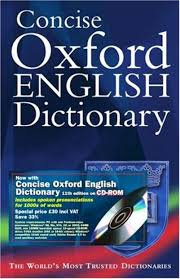 oxford dictionary book