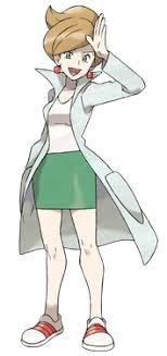 Pokemon Black and White information Professor-araragi