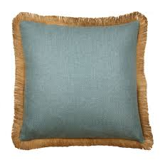 light blue pillow