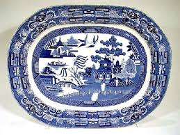 blue willow china pattern