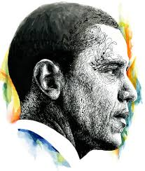 barack obama portraits